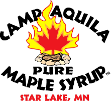 Camp Aquila Pure Maple Syrup logo
